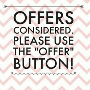 No offer rejected! I may counter but not decline!
